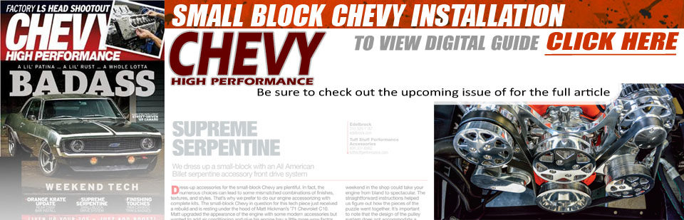 Chevy High Performance Small Block Chevy Installation Guide