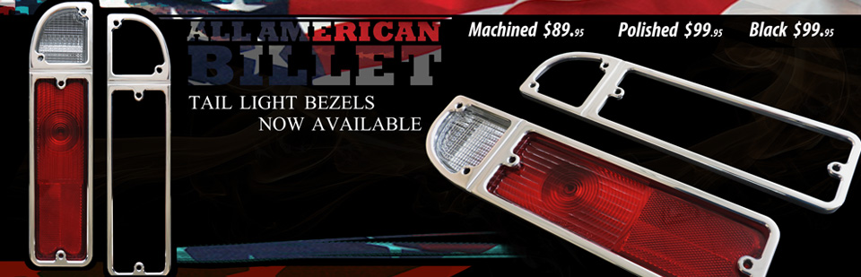 New Item - Tail Light Bezel