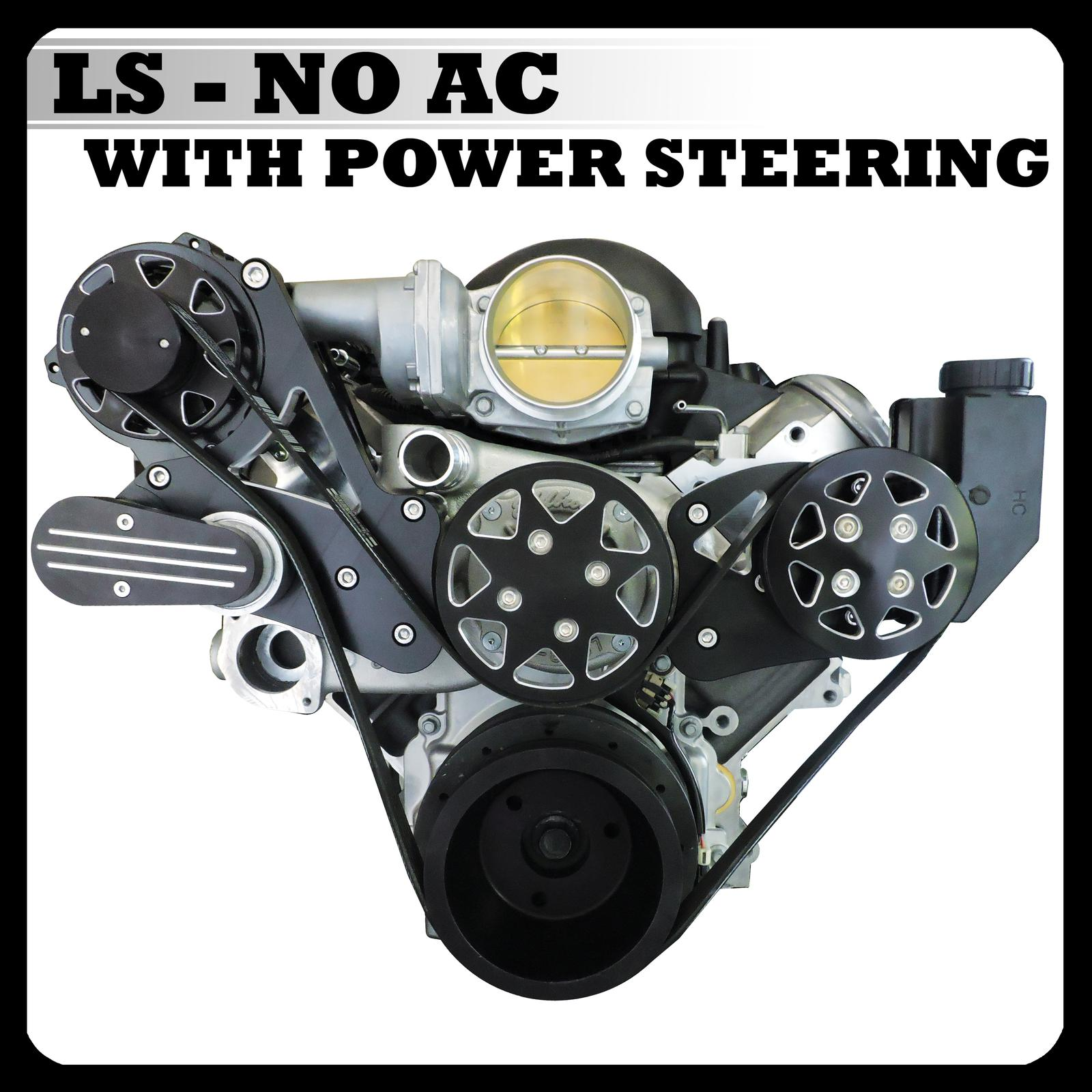Catalog Cover - LS No AC with Power Steering