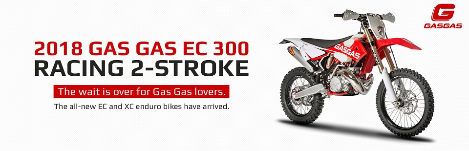 2018 Gas Gas EC 300 Racing 2-Stroke: Click here for details.