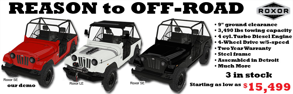 Roxor offroad