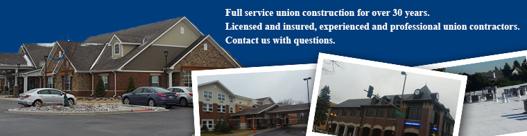 Full service union construction for over 30 years. Licensed and insured, experienced and professional union contractors. Contact us with questions.