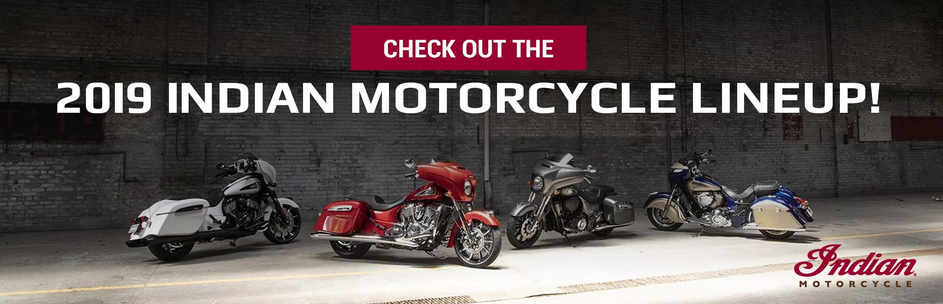 Check Out the 2019 Indian Motorcycle Lineup
