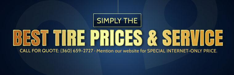 Contact us at (360) 659-2727 for a quote and mention our website for a special internet-only price.