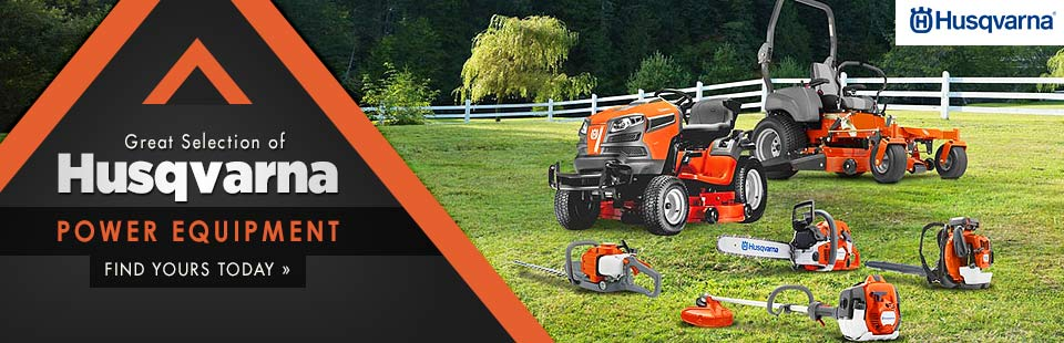 Husqvarna Power Equipment: Click here to view the models.
