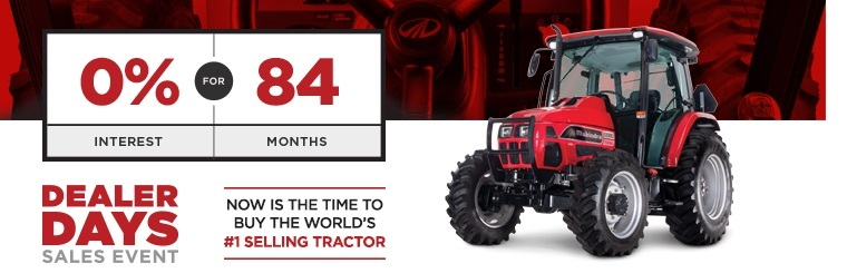 Click here to browse Mahindra tractors.