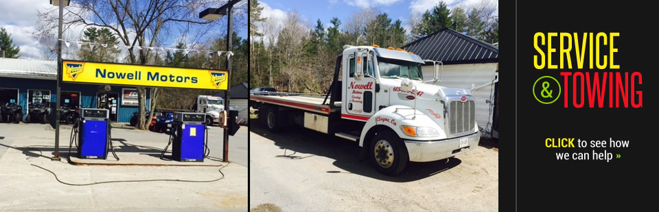 Service and Towing: Click here for more information!
