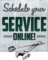 Schedule your service online!