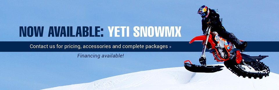 The YETI SNOWMX is now available at Outlaw Motor Sports Inc.! Click here to contact us.