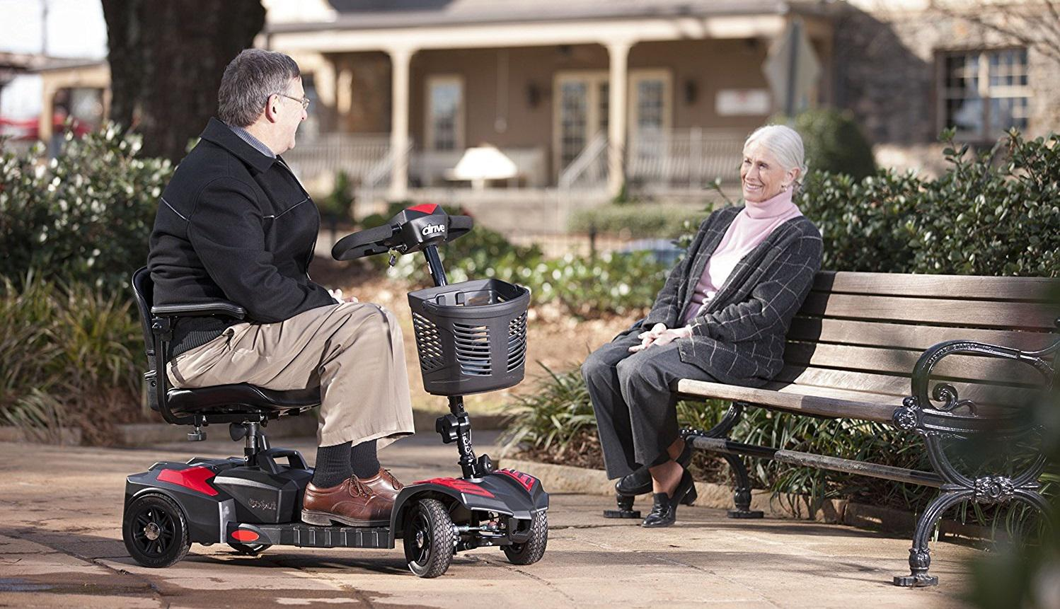 3 & 4-Wheeled Mobility Scooters at MS Supply & Home Health