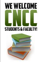 We welcome CNCC students & faculty!