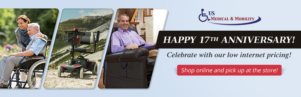 Happy 17th Anniversary: Celebrate with our low internet pricing! Shop online and pick up at the store!