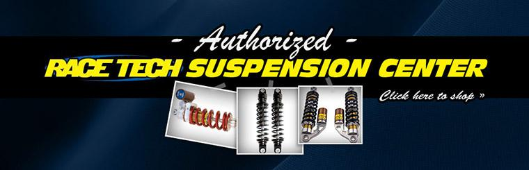 Authorized Race Tech Suspension Center: Click here to shop online.