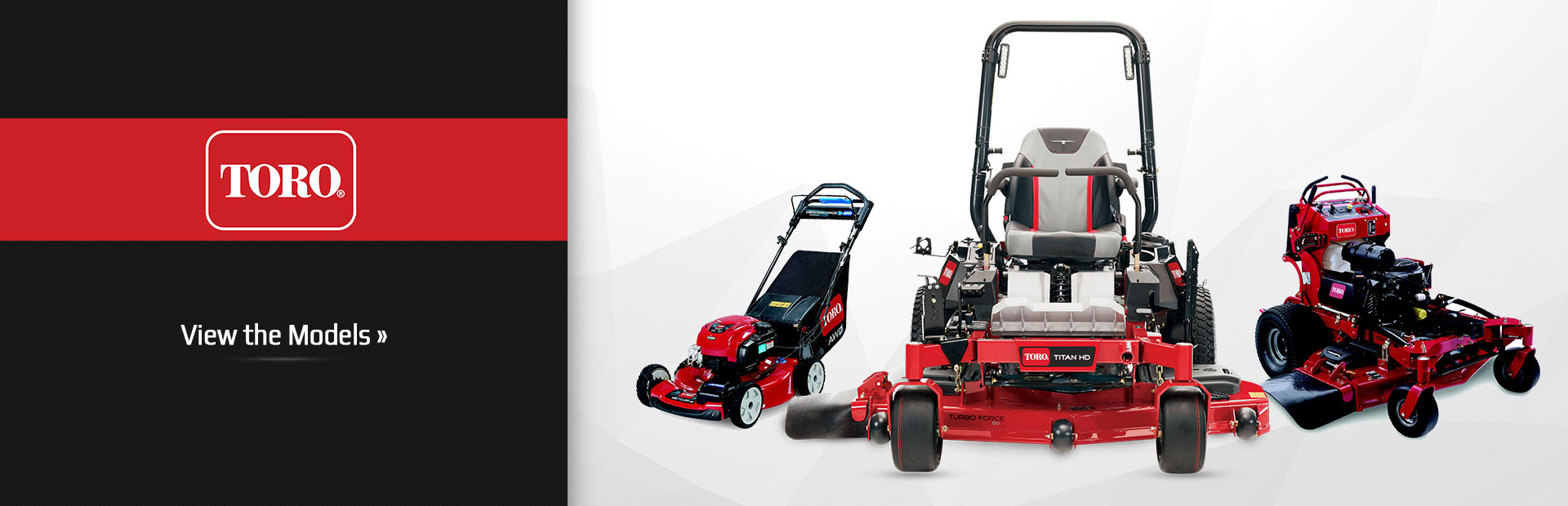 Click here to view our Toro lineup.