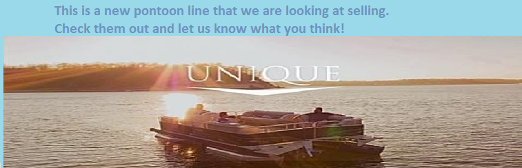 Unique Pontoon