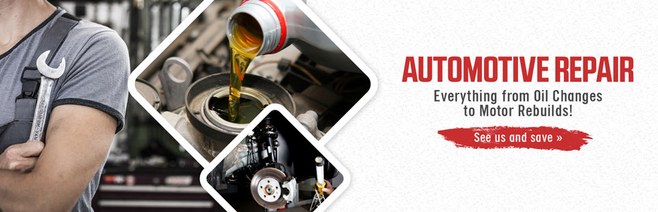 Automotive Repair: J&G Performance offers everything from oil changes to motor rebuilds! See us and save.
