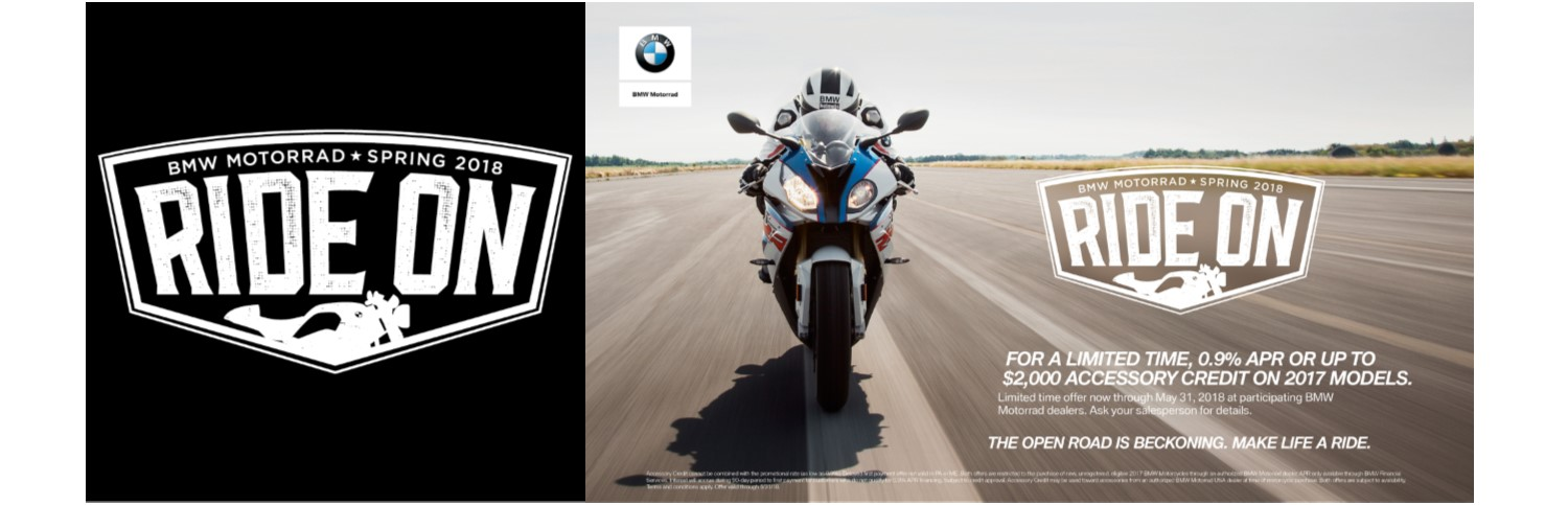 BMW RIDE ON 2018
