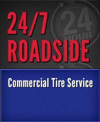 27/7 Roadside Commercial Tire Service