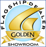 Golden Flagship Dealer Showroom.