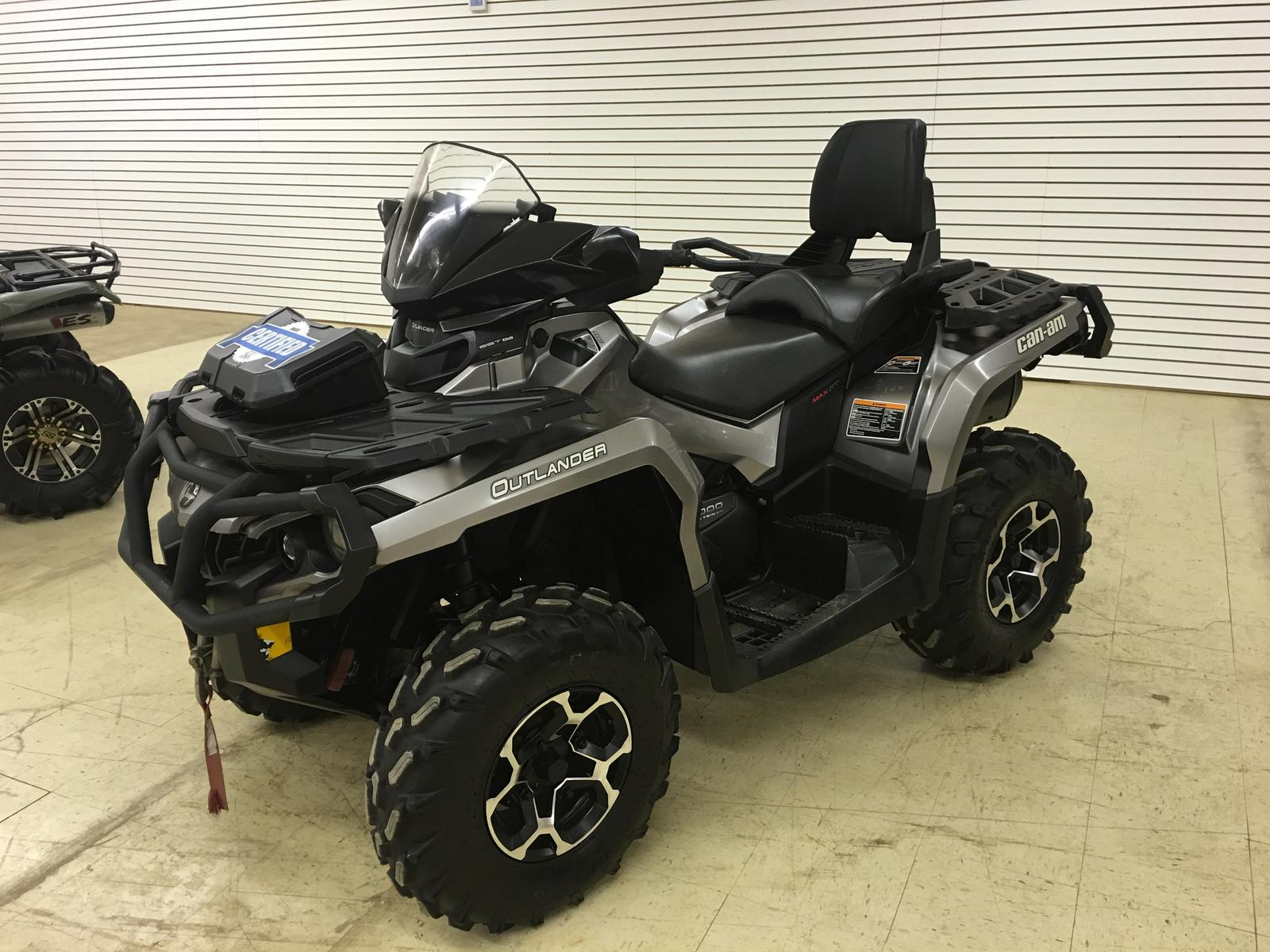 2014 Can Am Outlander MAX 1000 XT™ Pure Magnesium Metallic with
