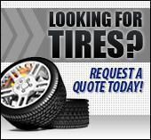 Looking for tires? Request a quote today!