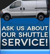 Ask Us About Our Shuttle Service!