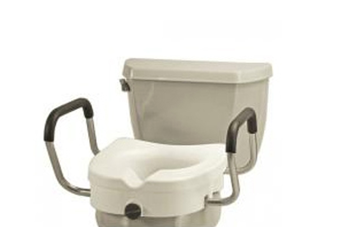 Raised Toilet Seats & Safety Rails