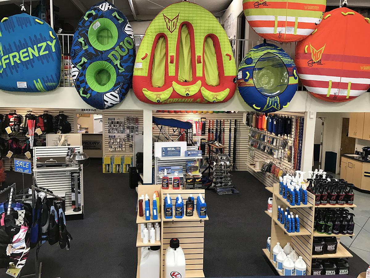 Pro Shop & Water Accessories