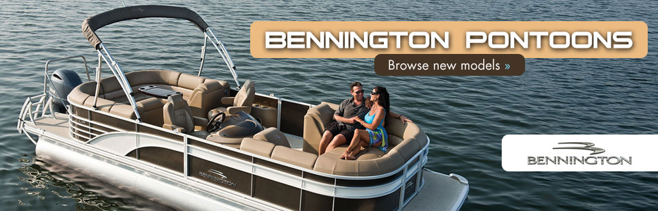 Bennington Pontoons: Click here to browse new models!