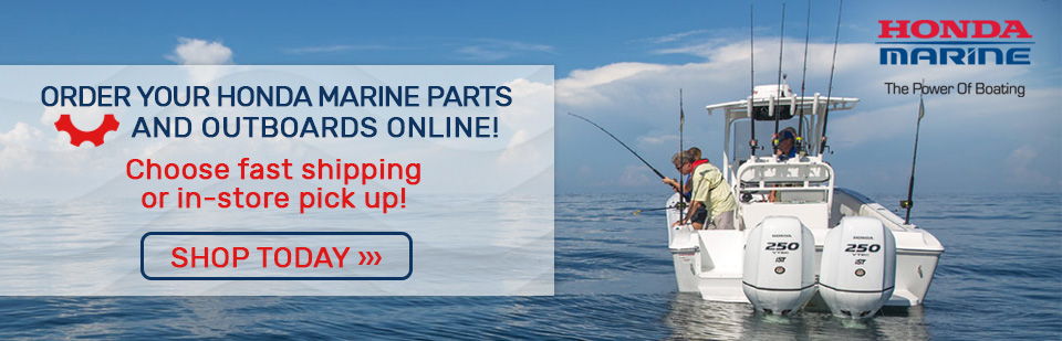 Shop Honda Marine Parts & Outboards Online! Only at VS Marine in SLO County.