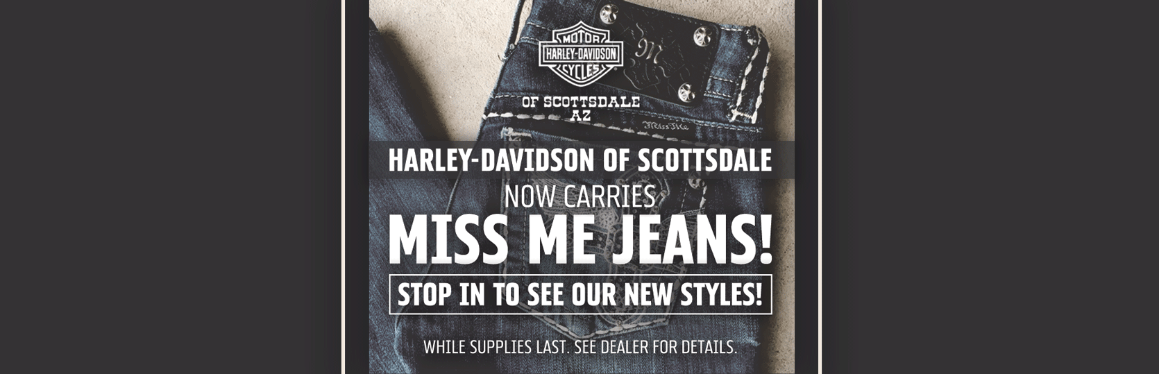 Miss Me Jeans Now in Stock