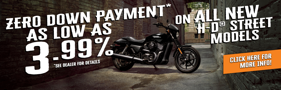 3.99% on H-D Streets