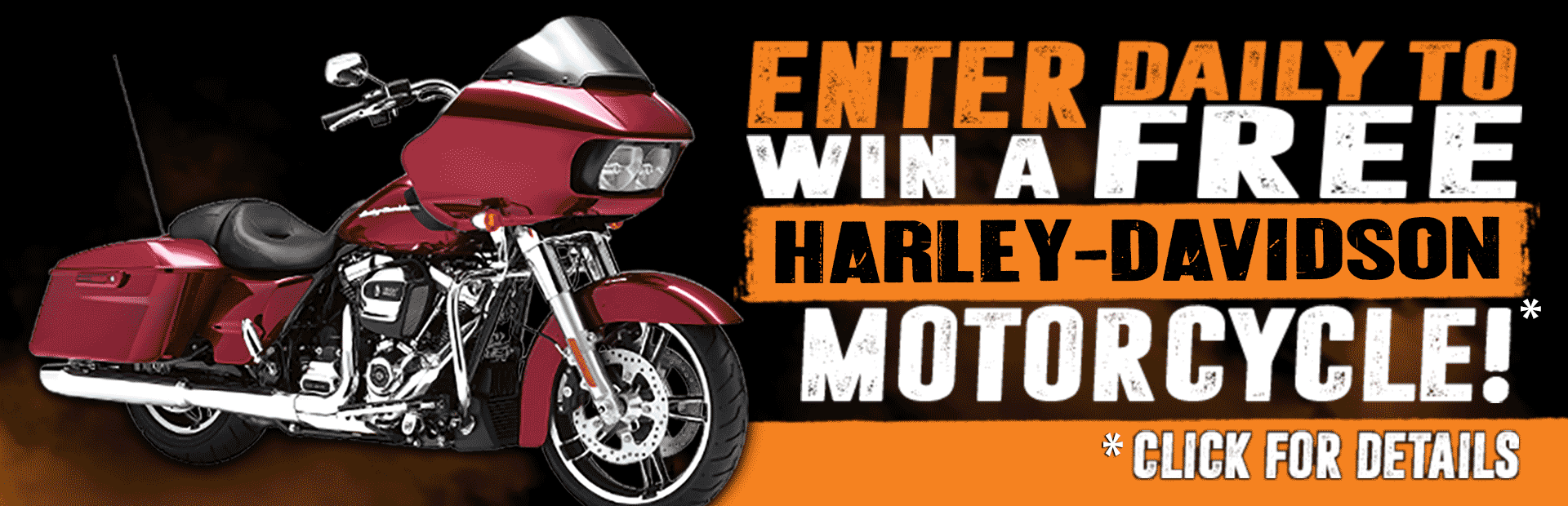 Motorcycle giveaway