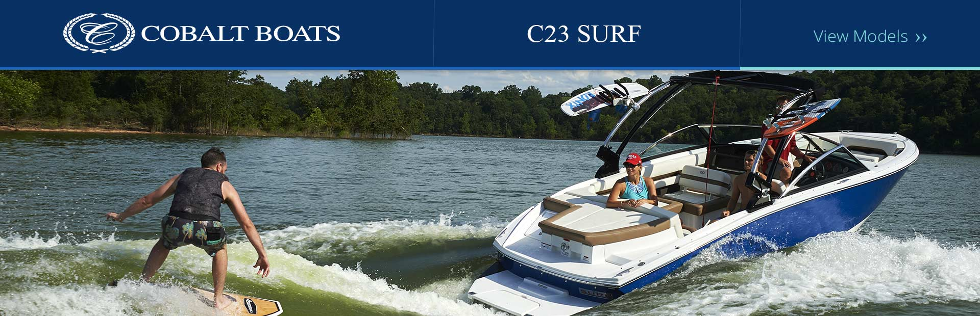 Cobalt C23 Surf: Click here to view the models.