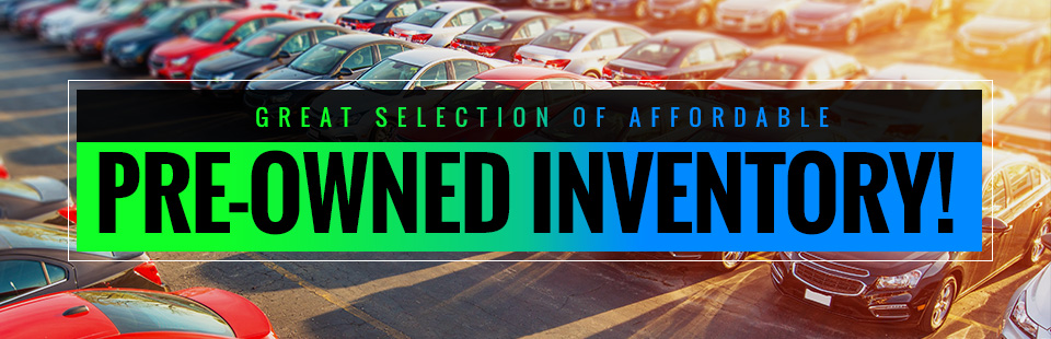Great Selection of Affordable Pre-Owned Inventory