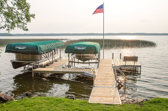 Canopies for boat docks in Annandale, MN