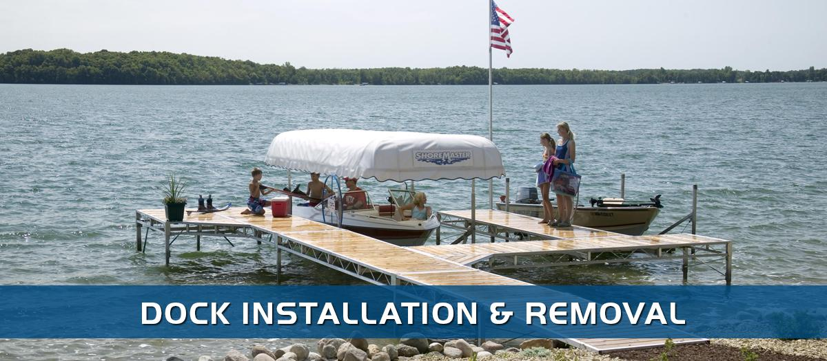 Dock Installation | St  Cloud, MN | J&J Marine