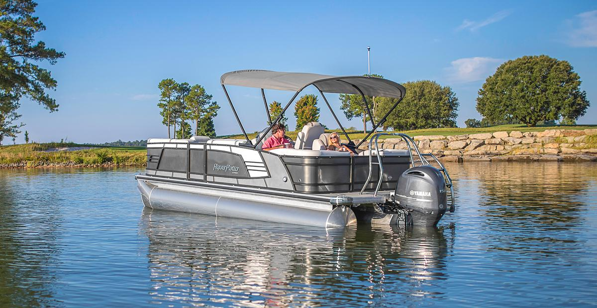 Aqua Patio Pontoon Boats
