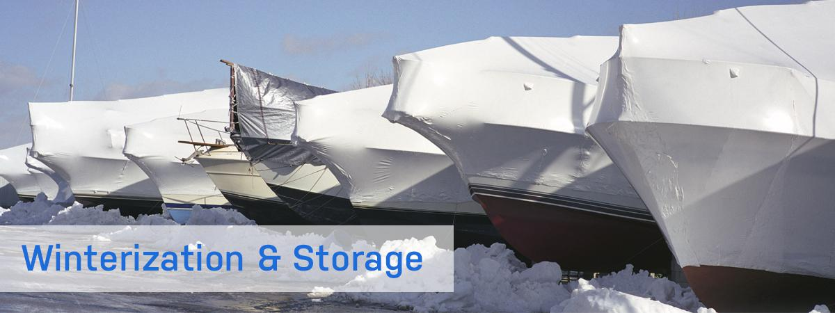 Boat storage and winterization in Annandale, MN