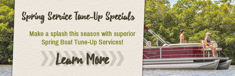 Get your fishing boat, aluminium boat, or pontoon in tip-top shape for Summer with our service specials!