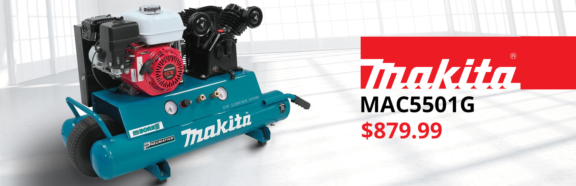 Get the Makita MAC5501G for just $879.99!