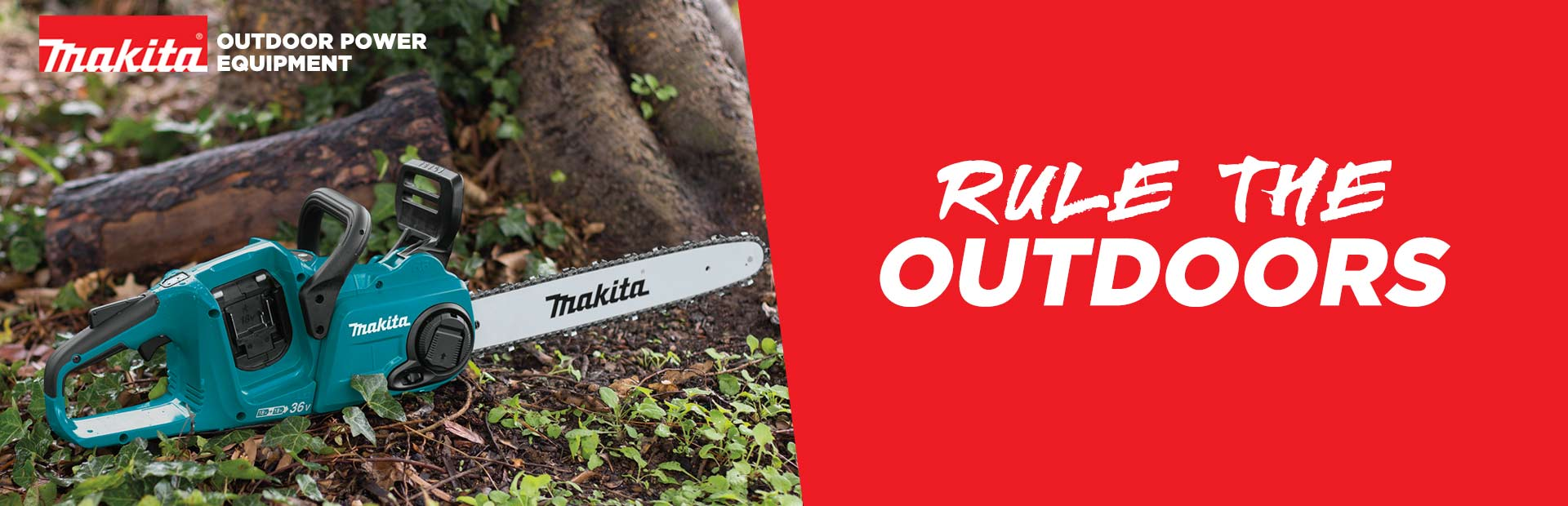 Makita Outdoor Power Equipment: Rule the Outdoors