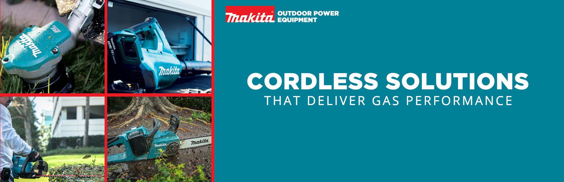 Makita Outdoor Power Equipment: Cordless Solutions That Deliver Gas Performance
