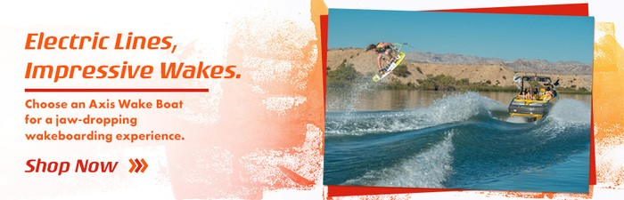 Axis Wake Boats Banner