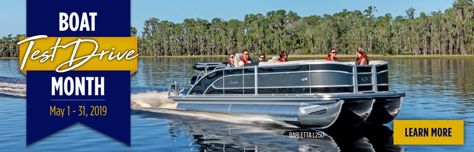 May Is Boat Test Drive Month