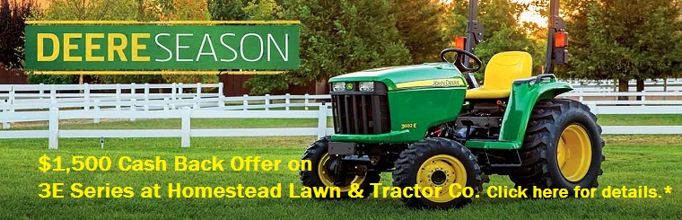 John Deere 3E Series Offer