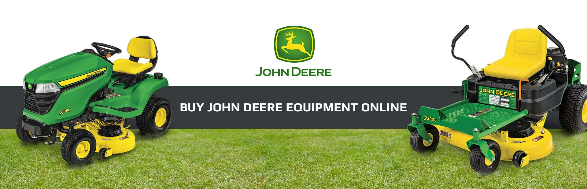 Buy John Deere equipment online!
