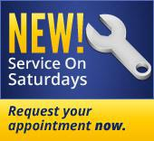 New! Service on Saturdays! Request your appointment now.