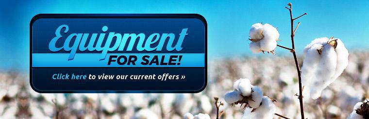 Equipment for Sale: Click here to view our current offers!