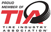 Proud Member of TIA Tire Industry Association.